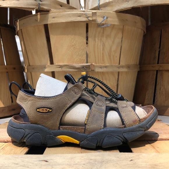 Keen Sarasota Bison Leather Hiking Sandals